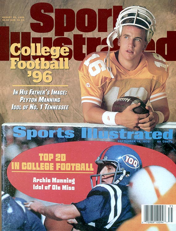 VIDEO: Peyton Manning reflects on past SI covers