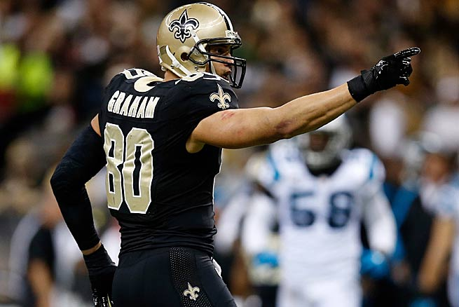 After a lackluster performance in a Week 15 loss to St. Louis, can Jimmy Graham rebound?