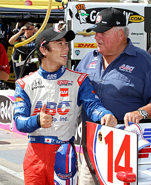Takuma Sato and A.J. Foyt have developed a successful chemistry they want to continue.