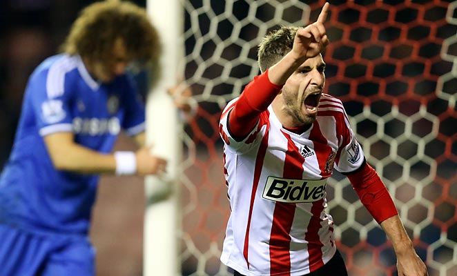 Fabio Borini netted an 88th-minute equalizer to force extra time, where Sunderland defeated Chelsea in the League Cup.