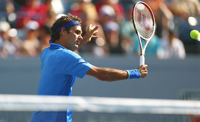 Roger Federer, down to No. 6, finished 2013 with his worst year-end ranking since 2002.