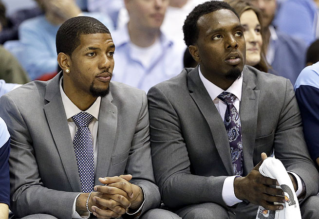 Leslie McDonald (left) has been cleared to play immediately; P.J. Hairston may not play for UNC again.