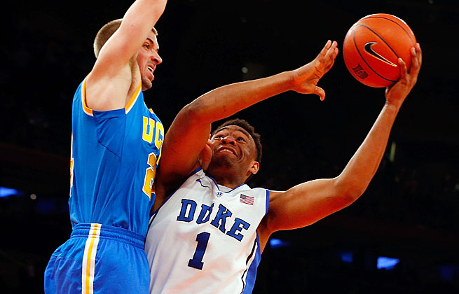 Jabari Parker's 23 points helped Duke beat UCLA but didn't ease his concerns over his defensive play