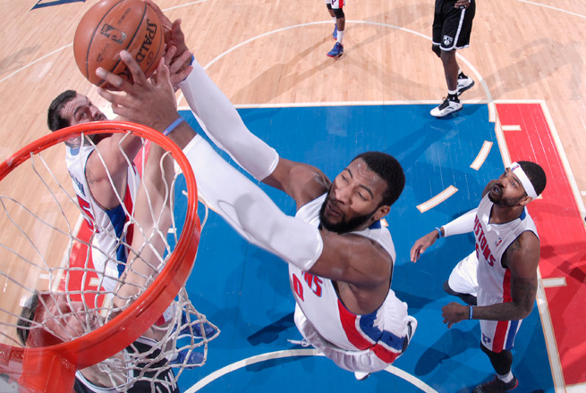 Andre Drummond, 20, is averaging 13.3 points, 12.7 boards and ranks No. 2 in in field-goal percentage.