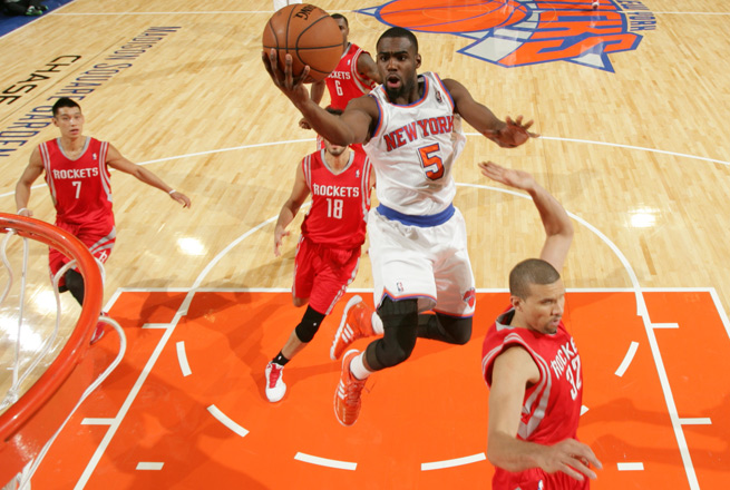 Rookie Tim Hardaway Jr. has been one of the few bright spots for the slumping Knicks this season.