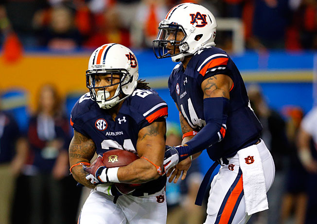 Tre Mason (21), Nick Marshall and Auburn will take on Florida State in the national title game on Jan. 6.