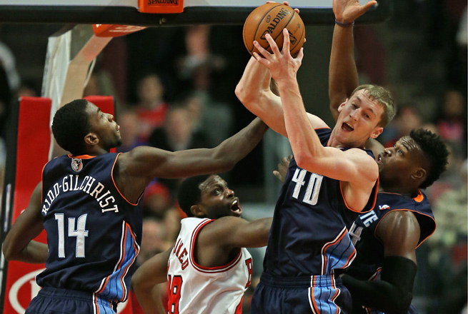 Cody Zeller's Bobcats currently stand at 12-14, good enough for sixth place in the Eastern Conference.
