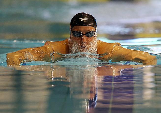 Jessica Hardy's performance in the 100 meter breaststroke helped the U.S. force a tiebreaker race.