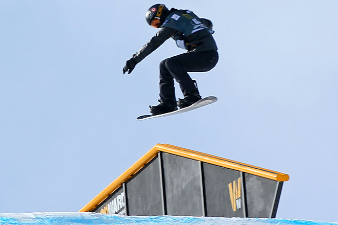 White is now in the driver's seat to earn a spot on the U.S. slopestyle roster with three more qualifiers left.