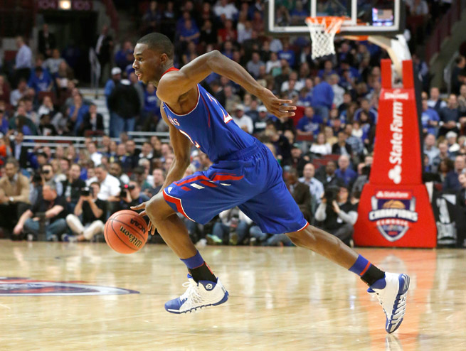 Kansas star freshman Andrew Wiggins is a victim of his own hype, though he remains firmly in the top prospect conversation despite some uneven play.