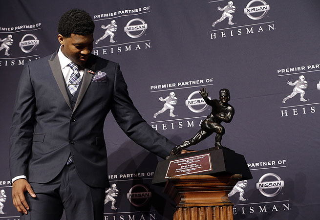 Jameis Winston has collected numerous postseason awards, including the Heisman Trophy.