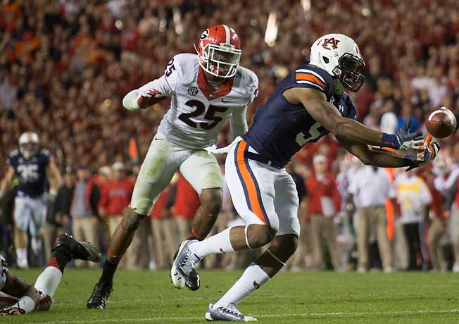 Auburn receiver Ricardo Louis' touchdown against Georgia began the Tigers' fortnight of miracles.