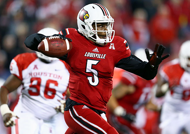 Louisville quarterback Teddy Bridgewater may play his final collegiate game in the Russell Athletic Bowl.