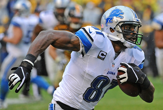 Calvin Johnson has been hampered by injuries recently, but if he plays, owners know to start him.