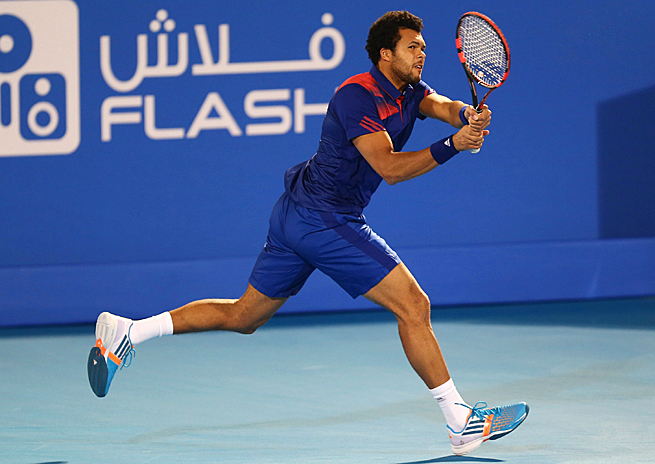 Jo-Wilfried Tsonga has only beaten Andy Murray once on tour, in the first round of the '08 Australian Open.