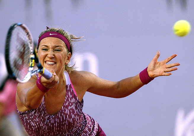 Victoria Azarenka's win might ease the sting of her U.S. Open loss to Serena Williams in September.