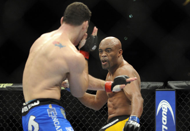 Chris Weidman defeated Anderson Silva again to retain his middleweight title.