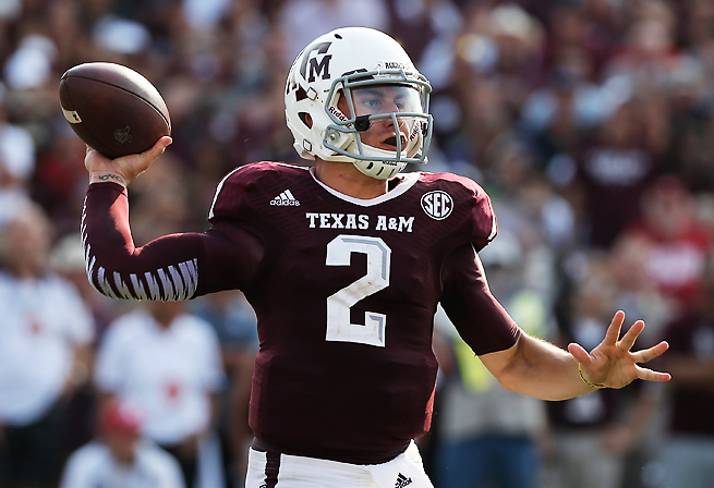 Whether or not he enters the NFL draft, Johnny Manziel will be scrutinized by the media in 2014.