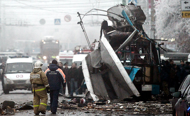 31 people died in a pair of terrorist attacks in the Russian city of Volgograd in the past two days.