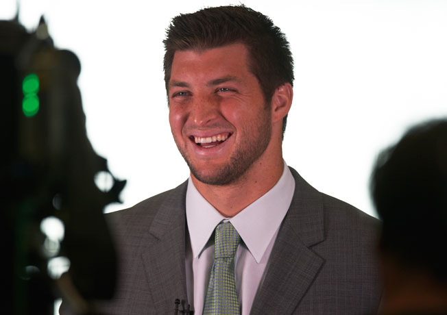Tim Tebow will make his ESPN debut during the network's coverage of the BCS title game on Jan. 6.