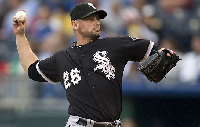 Jesse Crain was an All-Star with the White Sox last season.