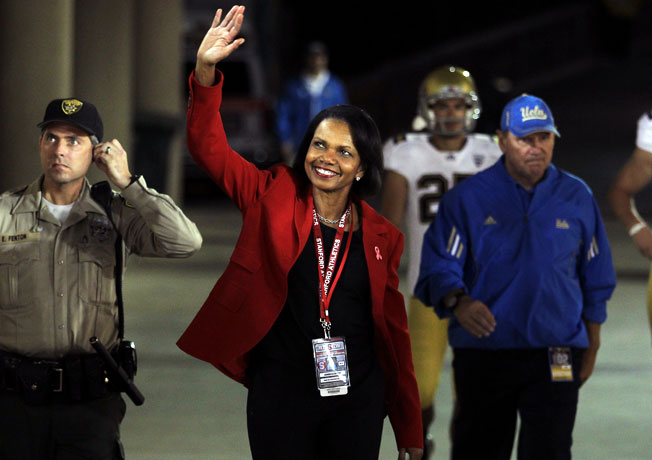 Condoleezza Rice's inclusion on the College Football Playoff committee has sparked plenty of backlash.