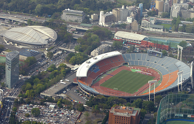 An 80,000-seat stadium is planned for the site of the smaller main stadium used at the 1964 Games.