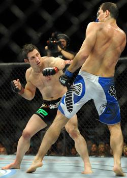 Tim Kennedy began fighting in unofficial bar brawls.