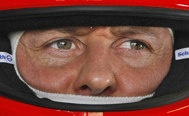 Seven-time champion Michael Schumacher was the most successful driver in Formula One history.