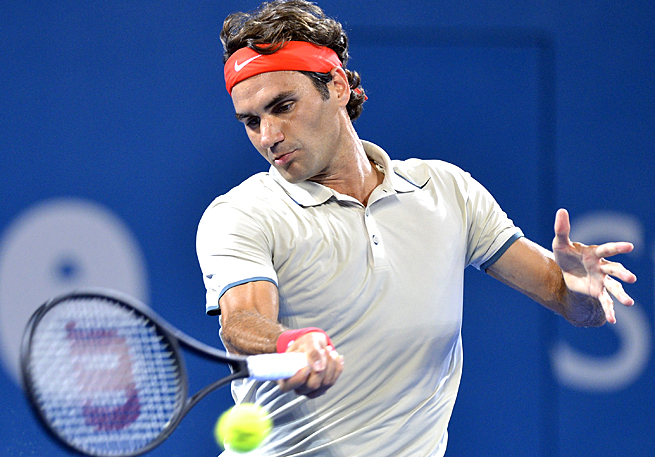Roger Federer showed effects of his work with Stefan Edberg in his match against Jarkko Nieminen.