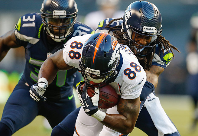 The Broncos and Seahawks own homefield throughout the playoffs. Are they poised to meet in Super Bowl XLVIII?