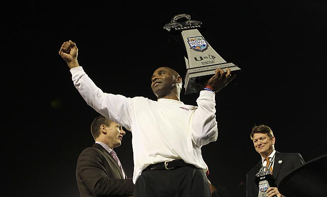 Just off a Russell Athletic Bowl win at Louisville, Charlie Strong is expected to be Texas' next coach.