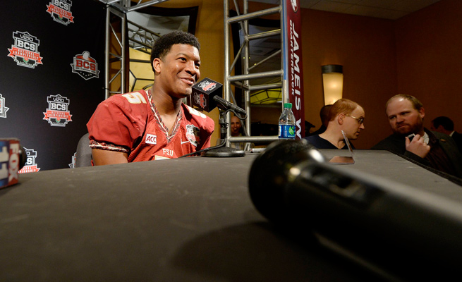 With 60-plus cameras being used on six ESPN platforms, there will be plenty of Jameis Winston on screen.