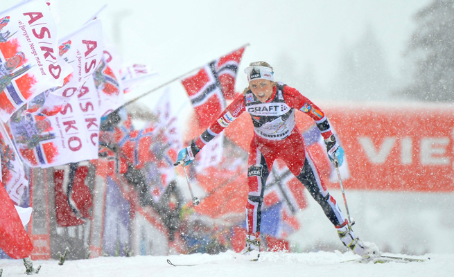 Therese Johaug became one of the first Norwegians to win the Tour de Ski after the seventh stage on Sunday.