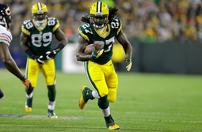 Eddie Lacy rushed for 1,178 yards and 11 touchdowns in his rookie season with the Green Bay Packers.
