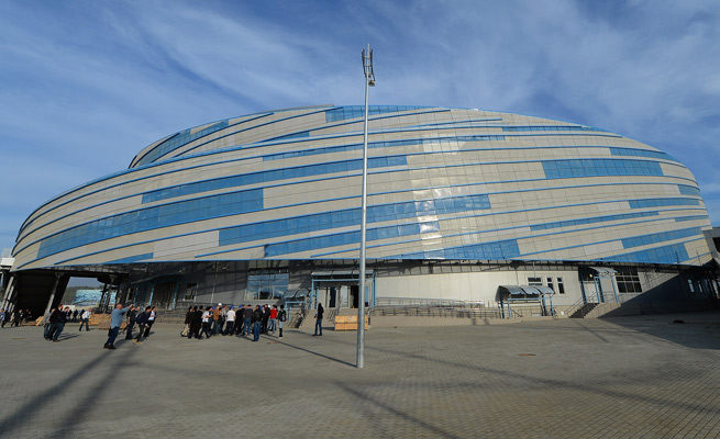 "Shayba Arena is not long for Sochi. The ""moveable venue"" will depart after the Olympics."