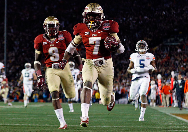 Kermit Whitfield's 100-yard kickoff return touchdown helped bring an end to the SEC's BCS title streak.