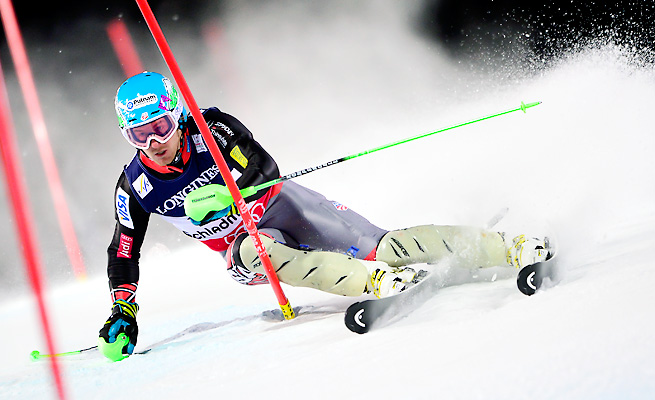 Ted Ligety won gold in the super-combined at the 2013 Ski World Championships in February.
