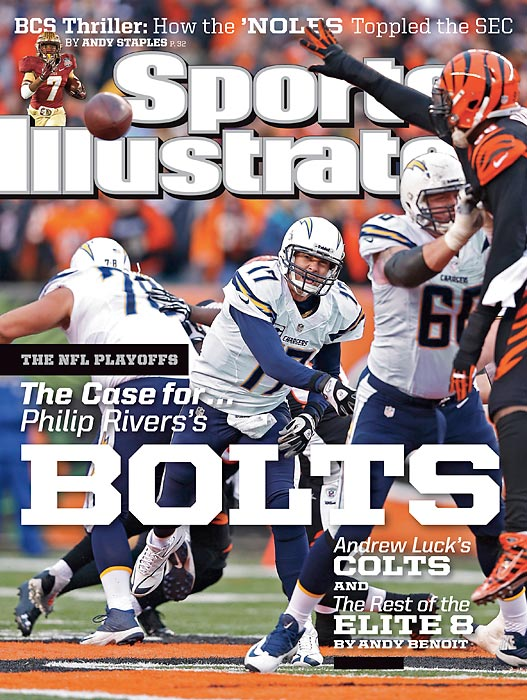 January 13, 2014  |  Don't write off the San Diego Chargers as Super Bowl contenders, writes Andy Benoit in this week's issue of Sports Illustrated. Leading the Bolts' surge is Philip Rivers, who has experienced a renaissance under first-year coach Mike McCoy.