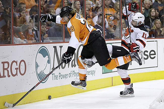 Claude Giroux and the Flyers have risen from the dead to move into a Metro playoff berth.