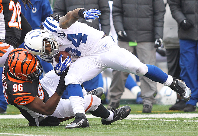 Owners hoped that maybe Trent Richardson's trade to the Colts would revive his season, but no.