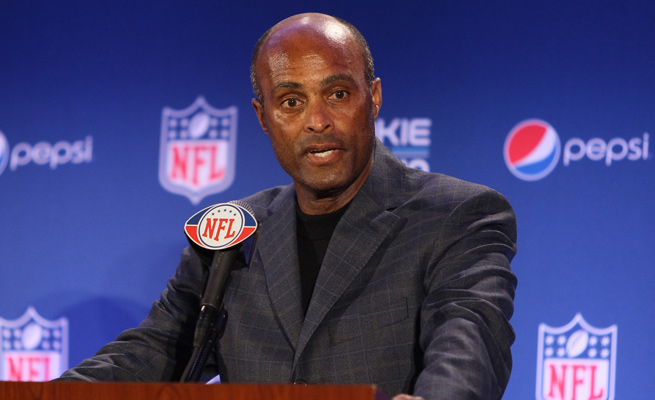 Ray Anderson left his position as the NFL's executive vice president of football operations at the end of the 2013 season.