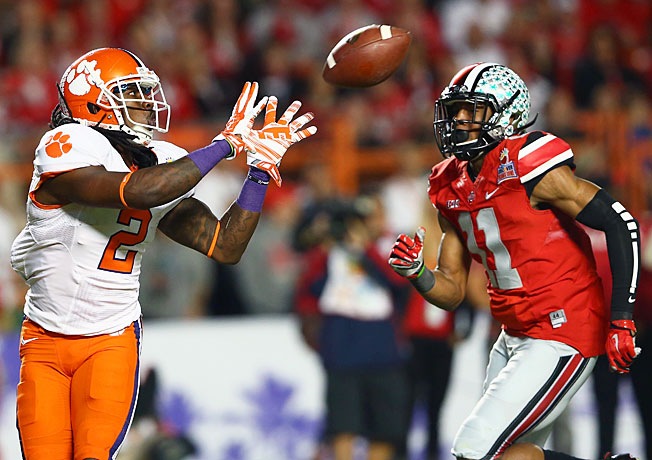 Sammy Watkins torched Ohio State for 227 receiving yards and two TDs in Clemson's Orange Bowl win.