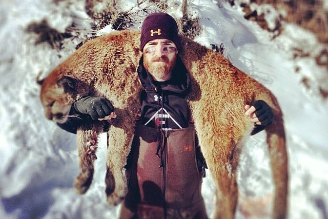 With the recent posting on Facebook of Washington Nationals first baseman Adam Laroche posing with a mountain lion he reportedly killed with a bow and arrow, SI presents this gallery of athletes who love to hunt.