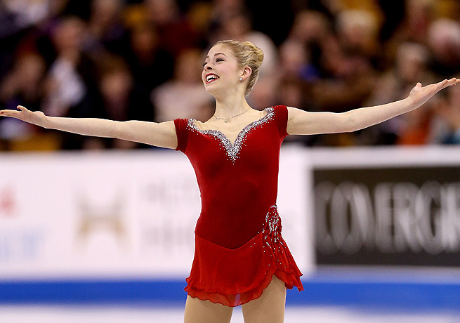 Gracie Gold will held to Sochi in search of a gold medal as part of the United States team.