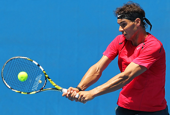 Rafael Nadal has a challenging road on the way to the Australian Open final.