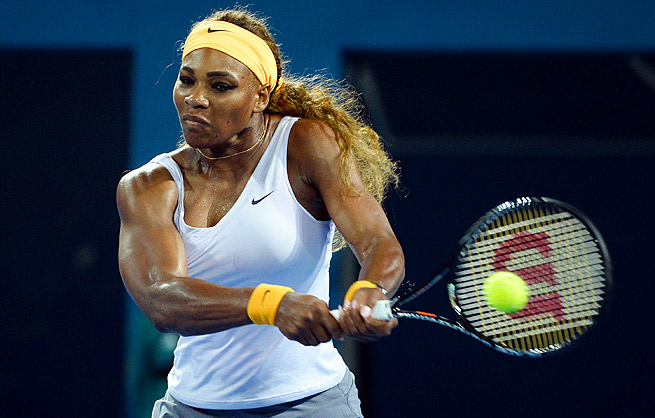 No. 1 Serena Williams has won five of her 17 Grand Slam titles at the Australian Open.