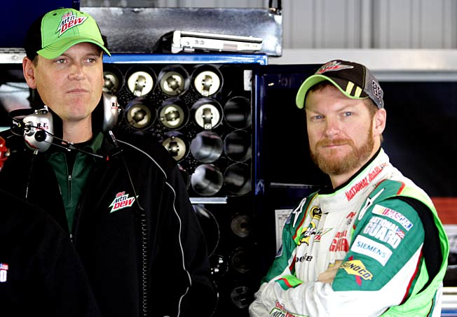 Crew chief Steve Letarte notified Dale Earnhardt Jr. last fall that he might be leaving for NBC.