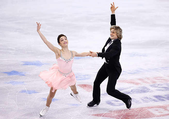 Meryl Davis and Charlie White will try to improve upon the silver medal they won in Vancouver.