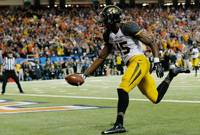 Dorial Green-Beckham, a sophomore, led No. 5 Missouri in receptions last season.